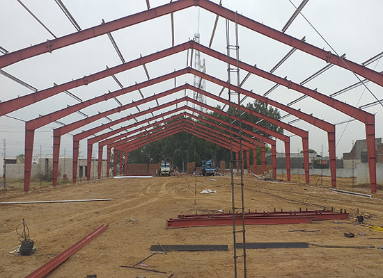 steel marquee